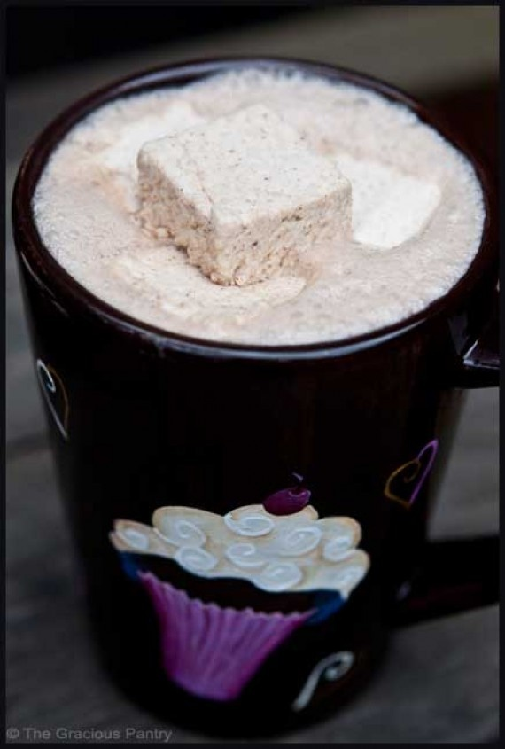 Agave sweetened homemade clean eating marshmallows (almost)