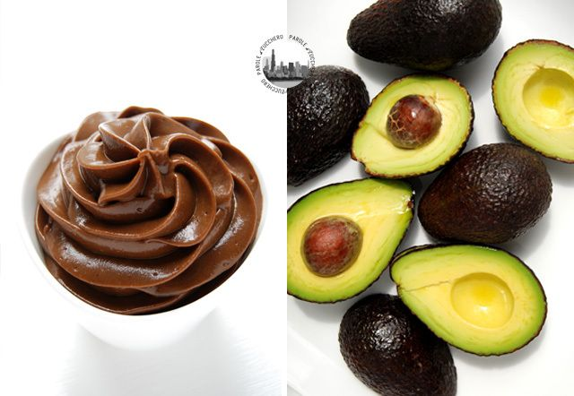 Chocolate-Avocado Pudding. So surprisingly creamy and delicious!