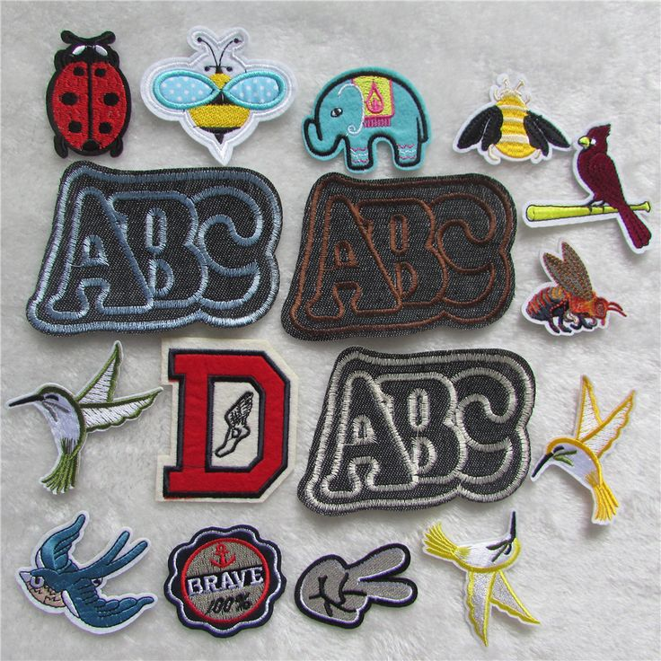 fashion brand new 10 pcs for sale hot melt adhesive applique embroidery patch stripes DIY clothing accessory free shipping  #Affiliate