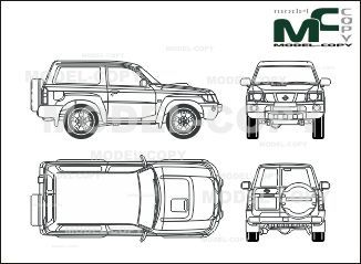 The 236 best nissan blueprints images on pinterest nissan patrol 2007 blueprints ai cdr cdw dwg malvernweather Image collections