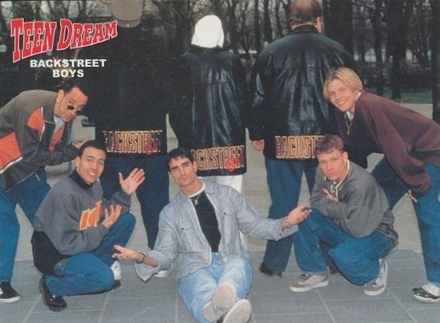 The time Lou Pearlman insisted on being part of the shoot and it just looked creepy and weird. | 25 Boy Band Photo Shoots That Went Horribly Wrong