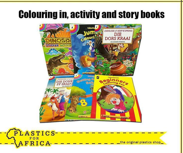At #PlasticsforAfrica, we have a wide range of educational books to keep your kids busy with, such as these colouring in, activity and story books. We also have Afrikaans books in stock. Visit your nearest branch. #SchoolHolidays