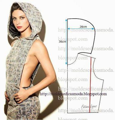 Moldes Moda por Medida: DETALHES DE MODELAÇÃO - 19