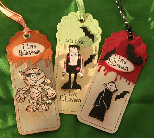 Tags of Terror by splicedcenterstamp - Cards and Paper Crafts at Splitcoaststampers