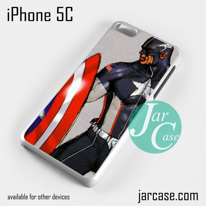 Captain America 2 Phone case for iPhone 5C and other iPhone devices