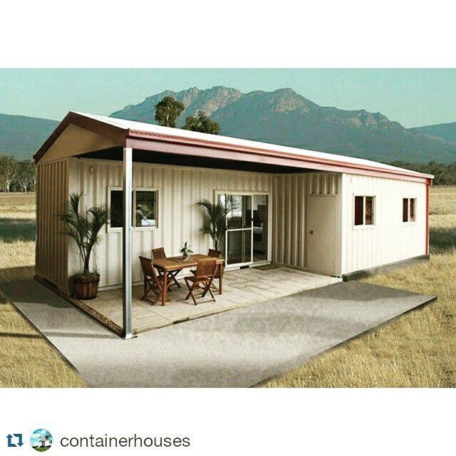 """313 curtidas, 26 comentários - Casa Container (@containerhousebr) no Instagram: """"Eu quero uma casa no campo, onde eu possa compor muitos rocks rurais! #casacontainer…"""""""