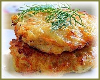 Куриные оладьи с сыром. Быстро, вкусно и очень сытно