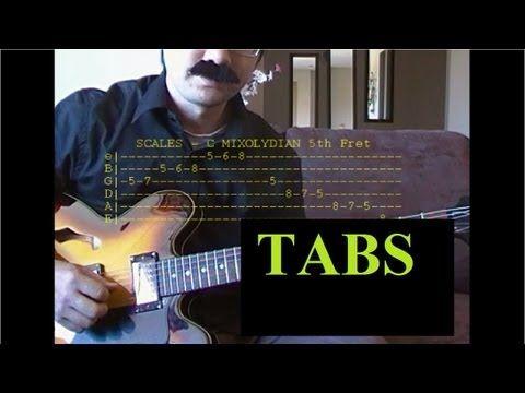 AUTUMN LEAVES Guitar Lesson TABS Easy Guitar - Autumn Leaves Guitar Tab - YouTube