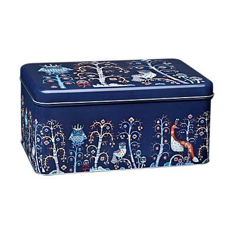 Metal box 280 x 178 x 130 mm blue  Klaus Haapaniemi, Heikki Orvola 2007