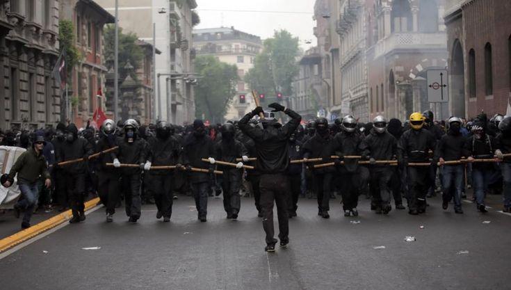 Expo 2015: il fotoracconto degli scontri