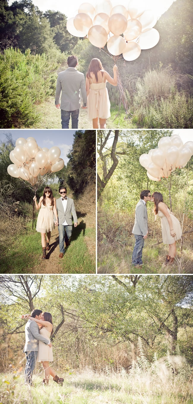 LOL.  I don't know if I could get a couple to do a shoot with balloons... but it's creative ;)