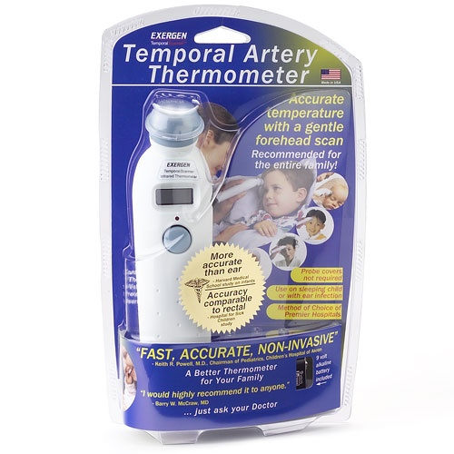 $32  Exergen Temporal Thermometer  4.5 out of 5  Open Ratings Snapshot