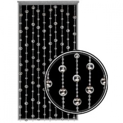 Are you looking for bead curtains for doors (also called door beads) to decorate your rooms with? They do give a very different look to your home...