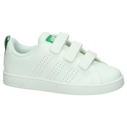 Witte Adidas Advantage Sneaker met Velcro