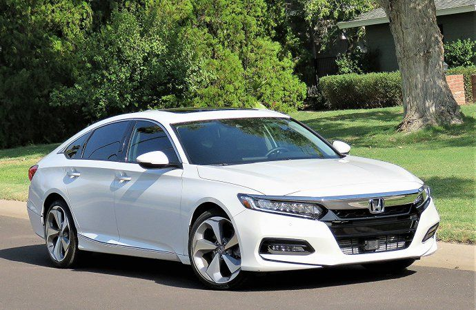 Driven 2018 Honda Accord Touring 2 0t 4 Door Sedan Honda Accord Touring 2018 Honda Accord Honda Accord