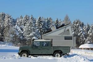 Wintercamping auf der Schwäbischen Alb