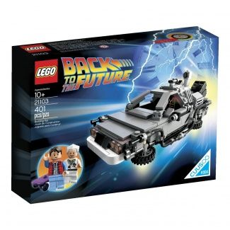 LEGO 21103 The DeLorean Time Machine Building Set  http://www.fishpond.co.nz/Toys/LEGO-Minecraft-Nether-21106-LEGO/0673419215558