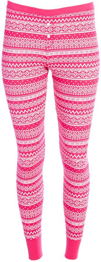 Pink Fair Isle Pajama Pants   Products