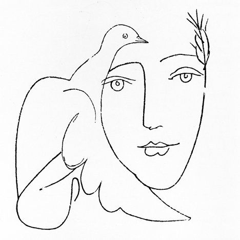 Artemis Dreaming, Face of Peace Pablo Picasso