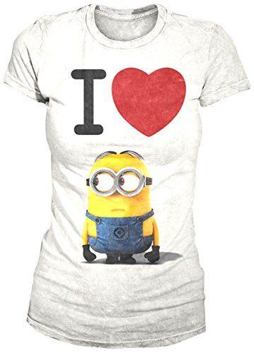 I Love Minion (Girly-Shirt S/White) Nastrovje Potsdam (Broken Silence) http://www.amazon.it/dp/B00KTS9ZZ4/ref=cm_sw_r_pi_dp_LqI4vb0XP6R3M