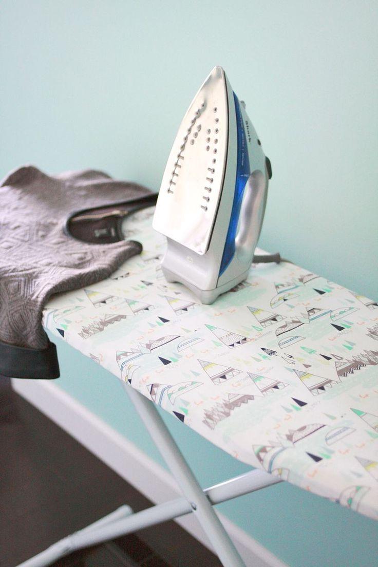 Ironing Board Cover DIY - A BEAUTIFUL MESS