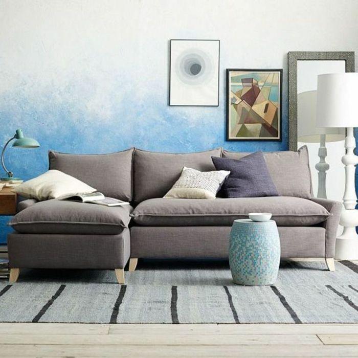 Die besten 25+ Geometrische tapete Ideen auf Pinterest Moderne - wohnzimmer tapete blau