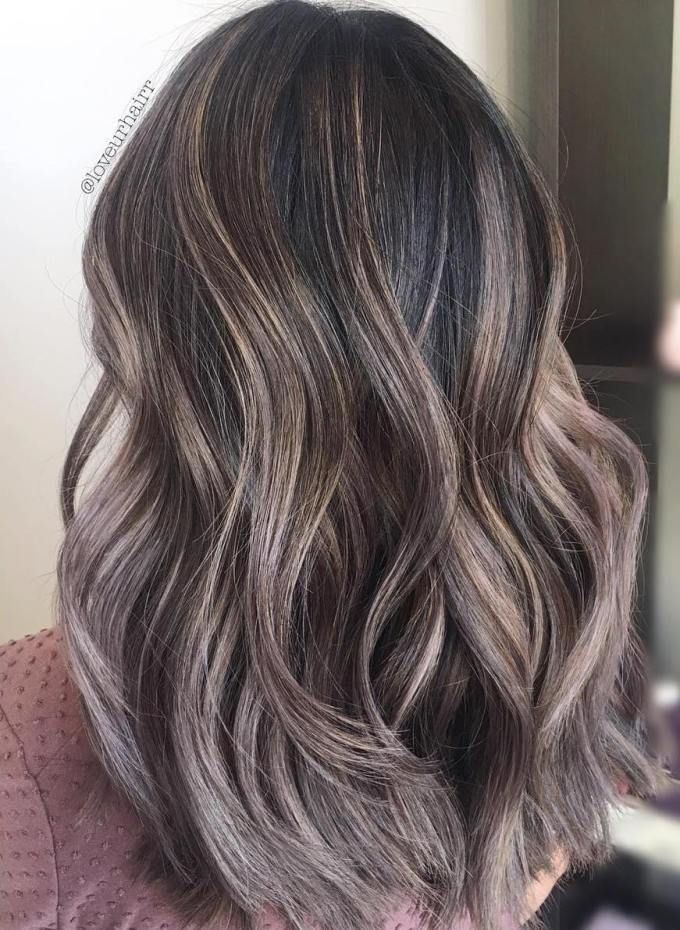 Brunette Balayage Ash Blonde Mushroom Brown Hair A Hot New Trend You 39;ll Fall In Love