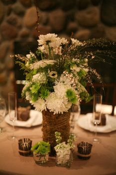 Rustic Centerpieces - Project Wedding Forums