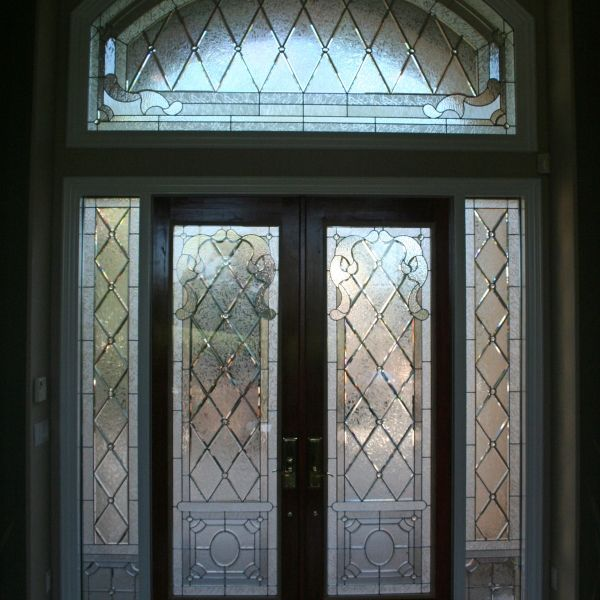 Leaded Door (187)