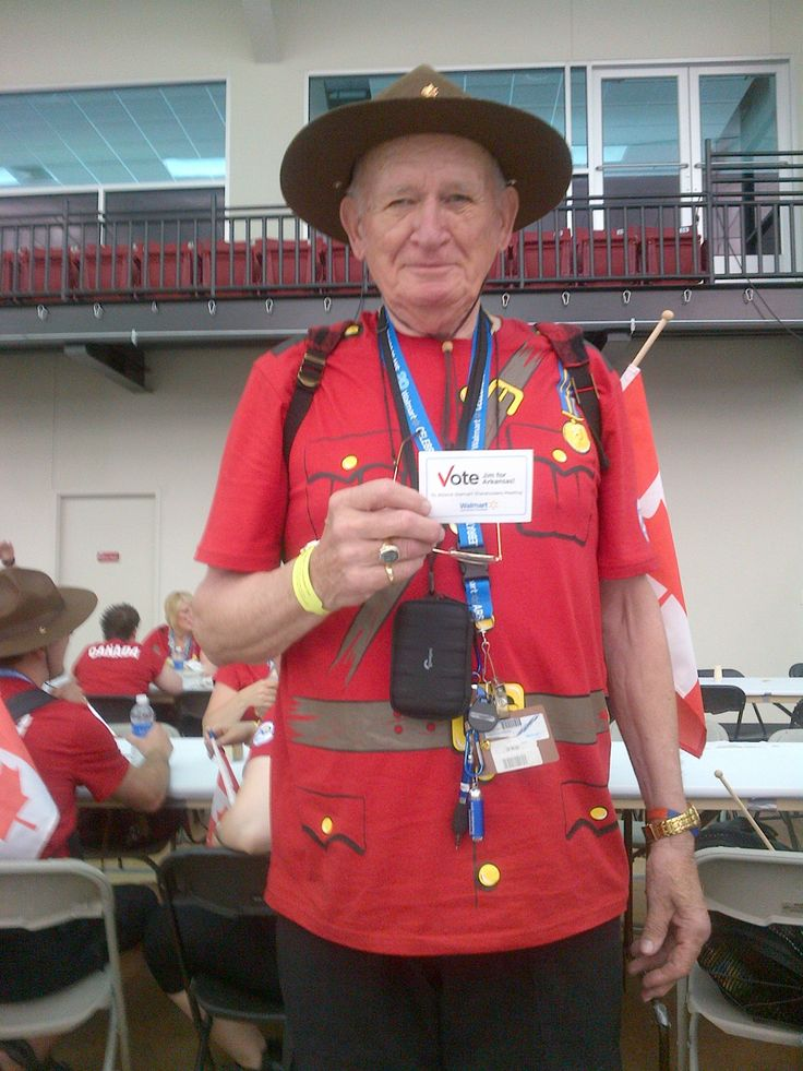 Wild, Wild Jim and his vote card! [2014]