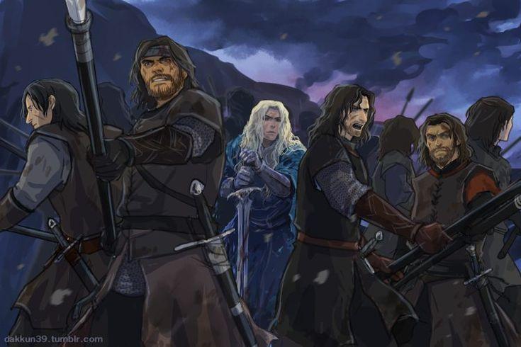 Ф́инрод Ф́елагунд (англ. Finrod Felagund) - эльф из нолдор, старший сын Финарфина и Эарвен. На 1/2 тэлери, на 1/4 нолдор, на 1/4 ваниар, так же, как его братья Ангрод, Аэгнор и сестра Галадриэль. Финрод унаследовал золотистые волосы отца и так же как он, был прекрасен, походя на ваниар. От матери из тэлери ему передалась любовь к морю и мечты о далеких, невиданных землях. Он был самым мудрым (в философском плане) из нолдор ушедших в Исход, самым благородным и любимым людьми. По характеру…
