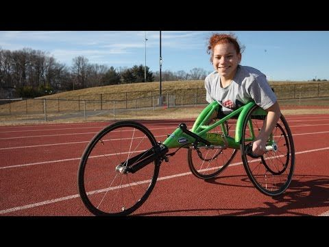 """Pinterest #2: Adapted Physical Activity Double Amputee Teen Sets Sights On Rio Paralympics - Body Bizarre - I chose this video because this really inspires me personally. When I was a kid I dreaded the mile run, it was the worst. But watching this video and many similar to it makes me realize how my little worries shouldn't have mattered. I mean, she is competing to be in Rio for the Paralympics and I'm over here as a kid saying, """"shoot we have to run the mile today"""" She amazes me as a…"""