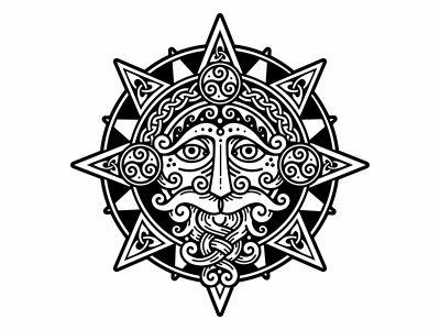 Беленус в кельтской мифологии бог солнца. Галльский Аполлон. Беленусу был посвящен один из главных праздников кельтов — Белтейн (Beltene).  вариант эмблемы для чемпионата по ирландскому танцу