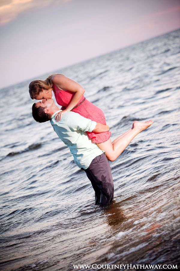 Outer Banks Engagement Photos OBX Weddings Beach