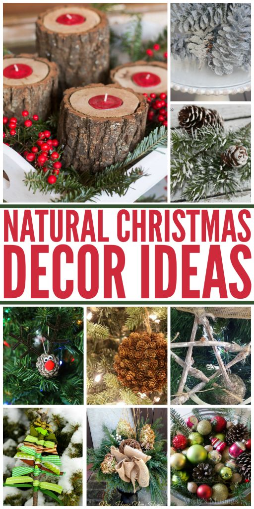 Wait, FREE Christmas decorations? Yes please! Love these ideas for FREE, natural holiday decorations!