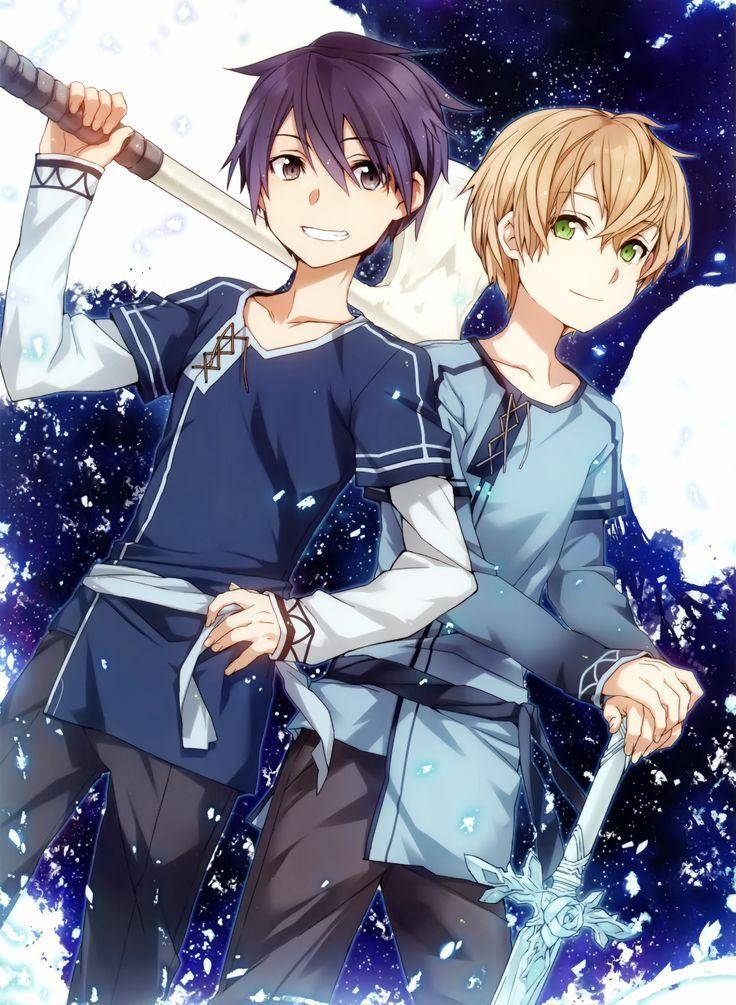 Kirito And Eugeo Sword Art Online Fanart Manga Anime Gg Anime Art Eugeo Fanart Sword Art Sword Art Online Wallpaper Sword Art Online Yuuki