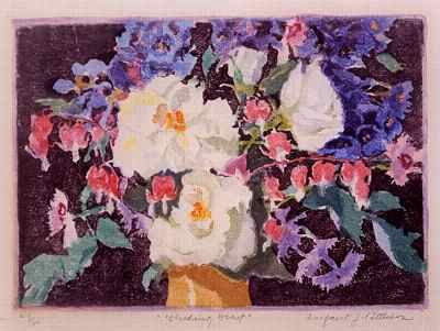 """Margaret J. Patterson: Master of Color and Light, with article """"Margaret Patterson: Master of Color and Design"""" by Cindy Nickerson"""