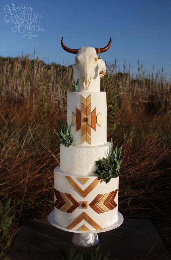 Southwestern Bohemian Chic by Very Unique Cakes by Veronique