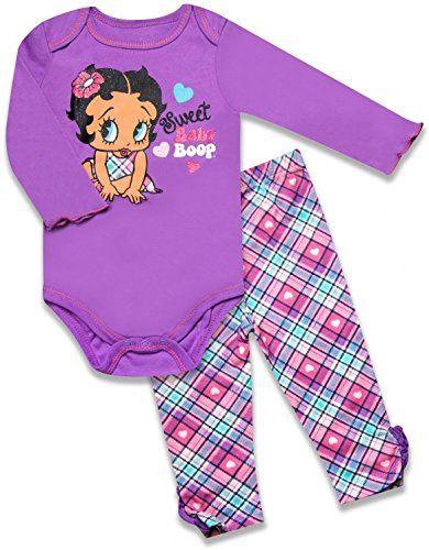 Betty Boop Sweet Baby Onesie Legging Set 1070