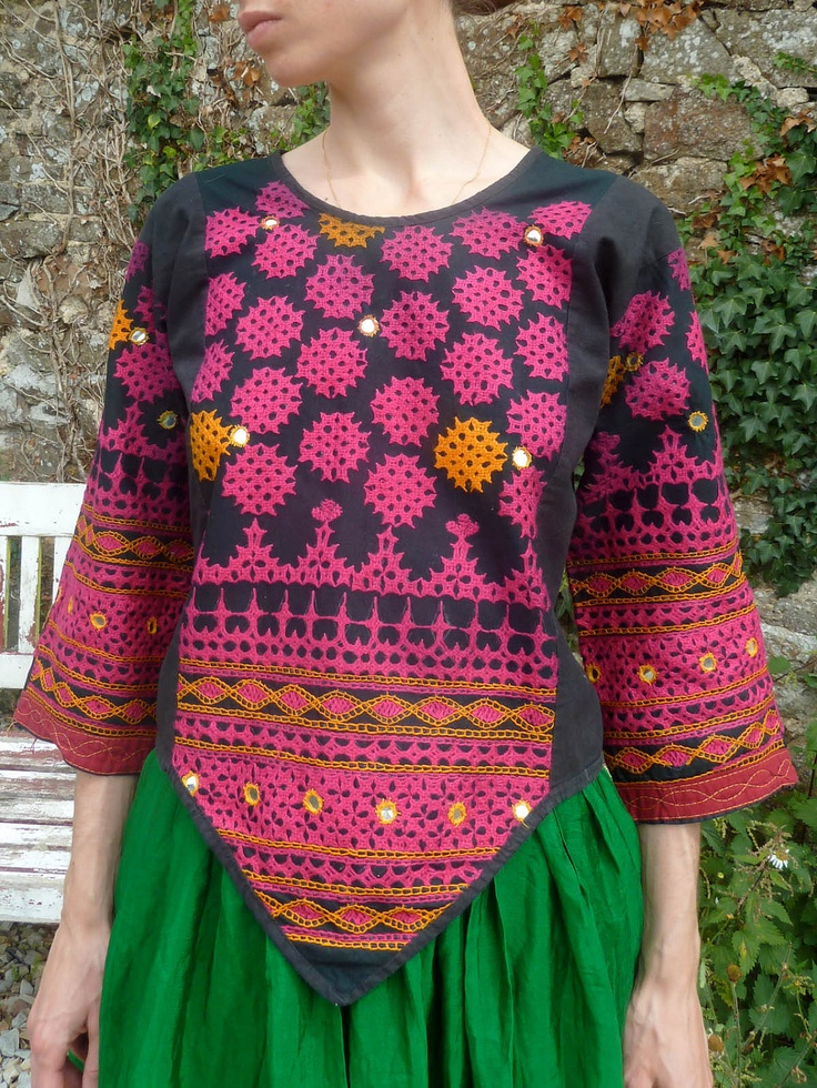 Rabari choli ethnic indian blouse vintage rajasthan india
