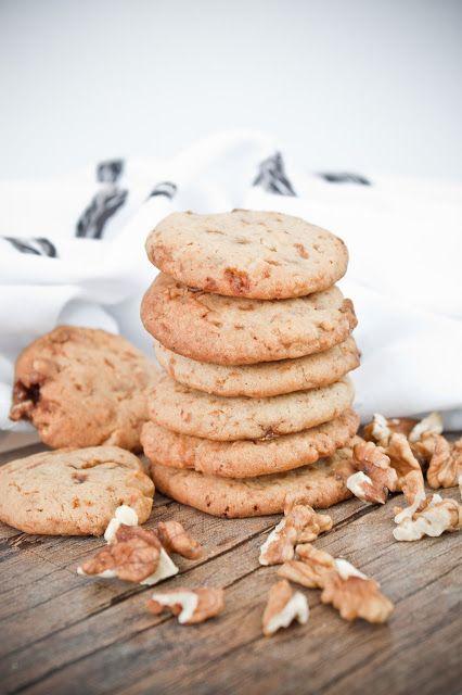 sušenky s ořechy v karamelu
