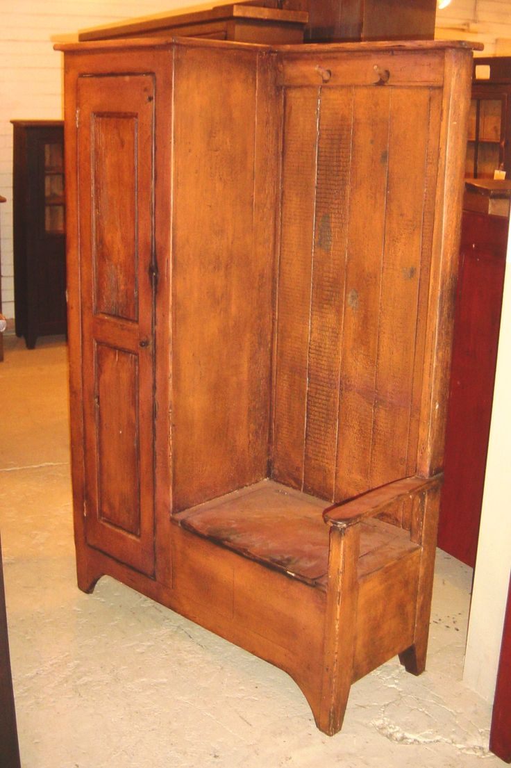 Love thisPrimitives Entry, Home Primitives, Primitives Decor, Entry Benches Instead, Primitives Furniture, Benches Combos, Benches Cabinets, Antiques, Country Furniture