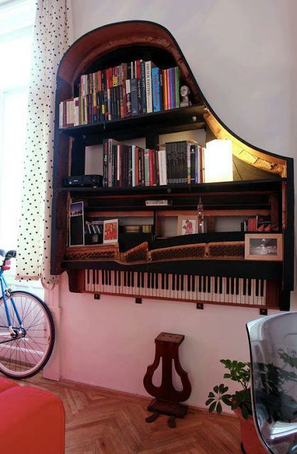 Upcycle Us: Upcycling an old piano