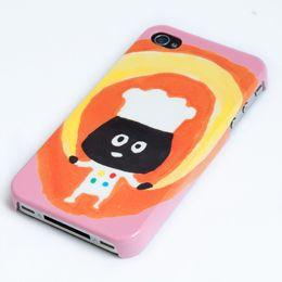 iPhoneケース「パンとアボカド」