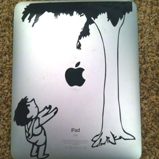 Quot The Giving Tree Quot Ipad Skin Made With Silhouette Cameo