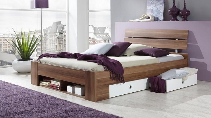 "Stauraum- & Funktionsbett ""Bornholm"" / Storage room for bedrooms ..."