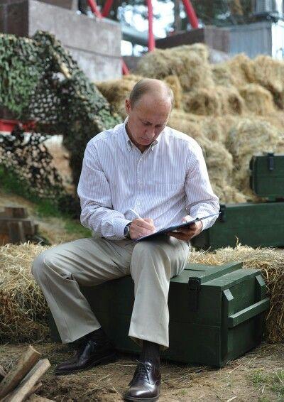 President Vladimir Putin ~I just love this photograph~