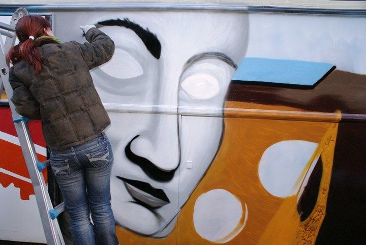Carroza Carnaval 3– Miró y Dalí
