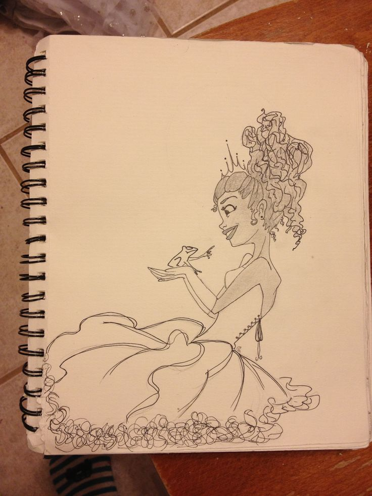 Tiana from the Disney movie PRINCESS AND THE FROG!!!!!