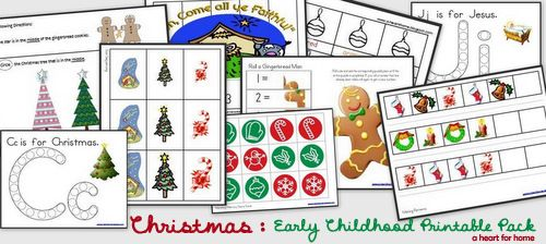 Free Christmas Printable Pack + Bonus Game Cards - All Our Days